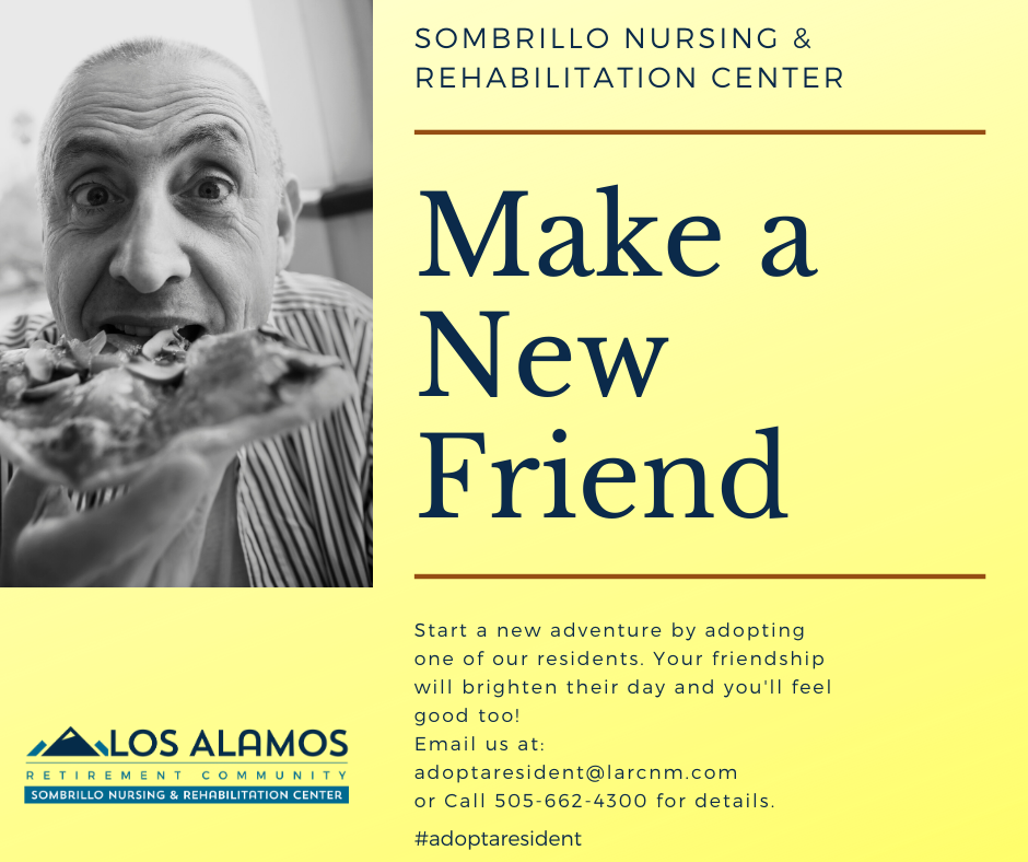 Let's make a new friend!